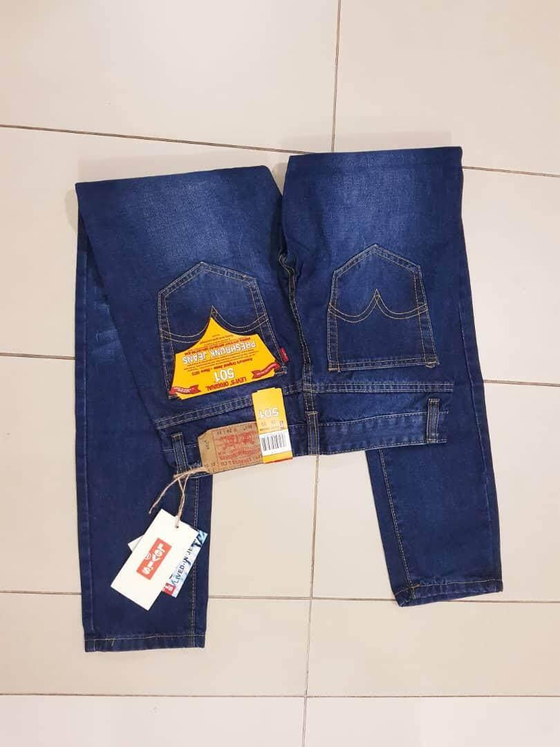 Levis 501, 601  Men Leg Button Fly Stonewash Jeans (Rejected clearance)