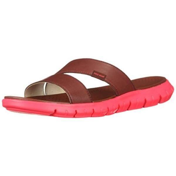 Cole Haan Womens Zerogrand 2 Strap Flat Sandal, Fired Brick, 7 B US - intl