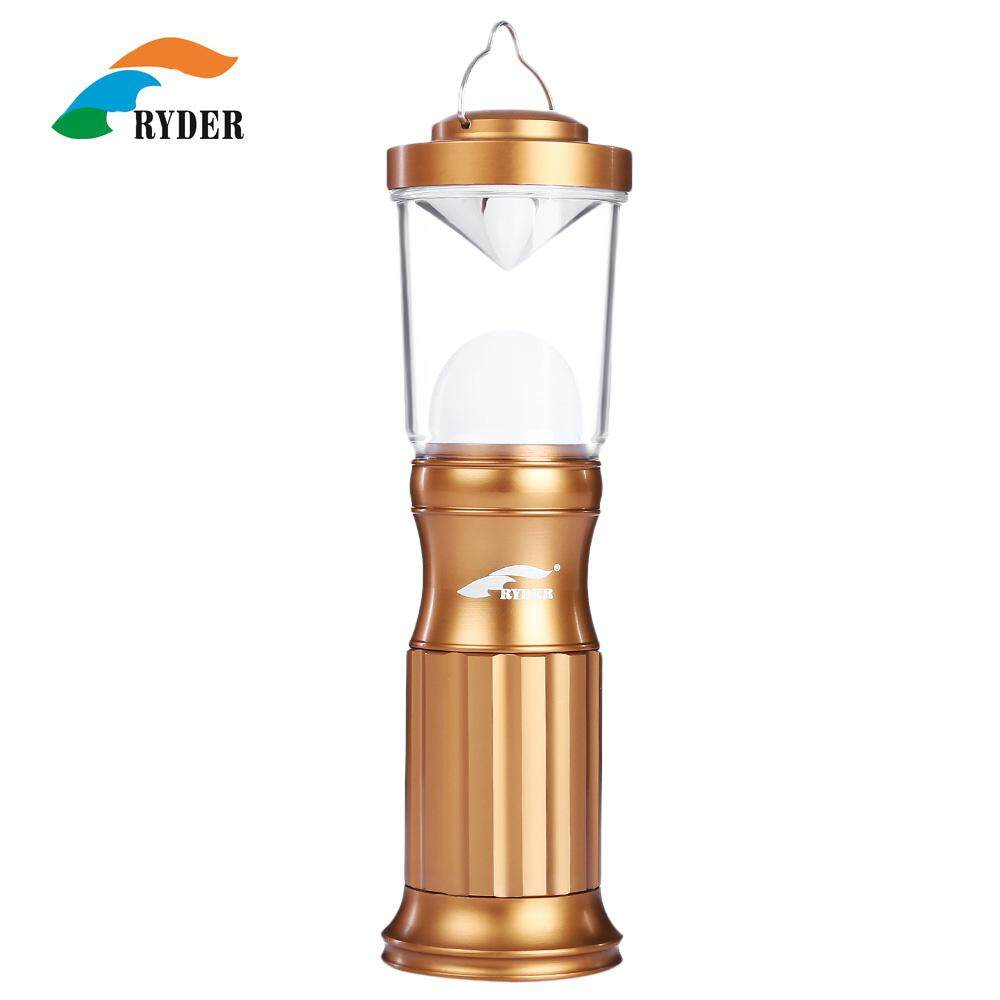 RYDER K2002 Outdoor Hiking Emergency Lamp Portable Aluminum Alloy Camping Tent Light