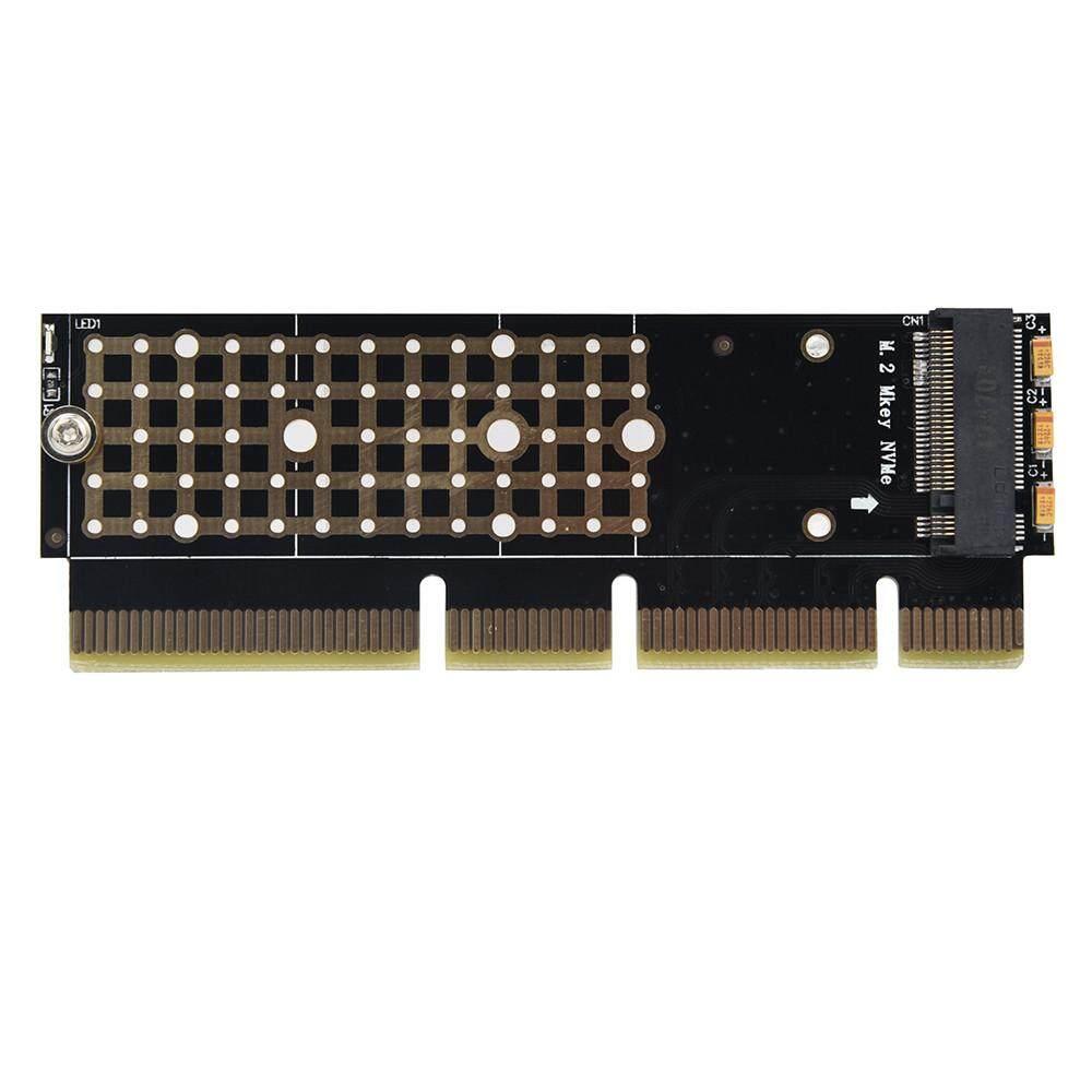 Honioer NVME SSD Ke PCIe 3.0X16/X8/X4 Adaptor Ekspansi Kartu Mkey untuk 1U/2U Server