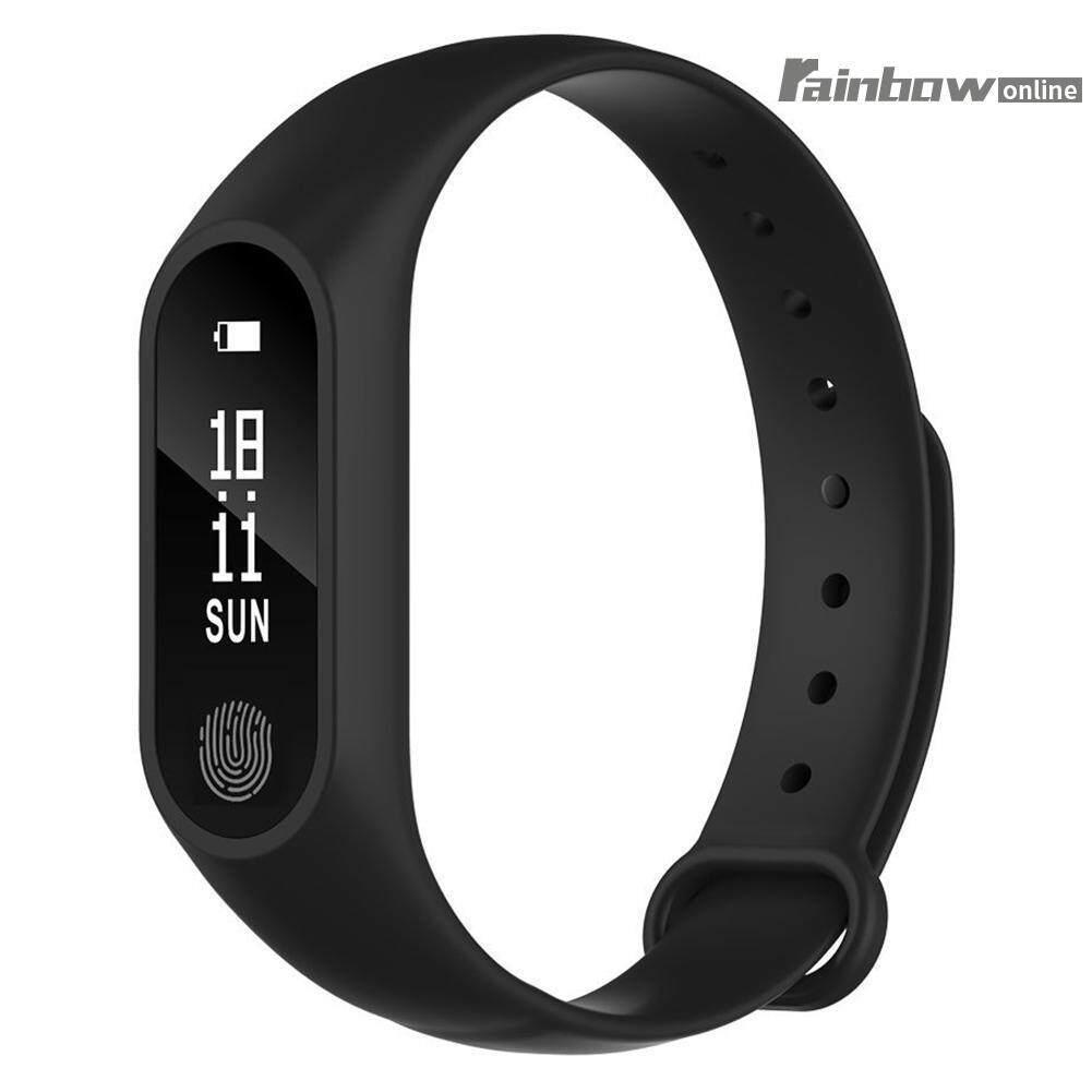 Hình ảnh M2 Smart Wristband Sports Bracelet Pedometer Heart Rate Monitor - intl