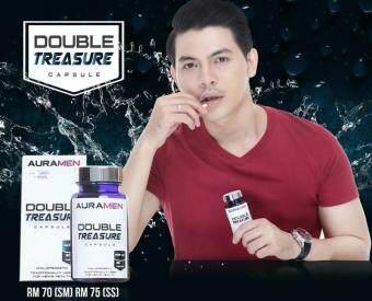 Auramen Double Treasure Capsules ORIGINAL KKM (30 Capsules)