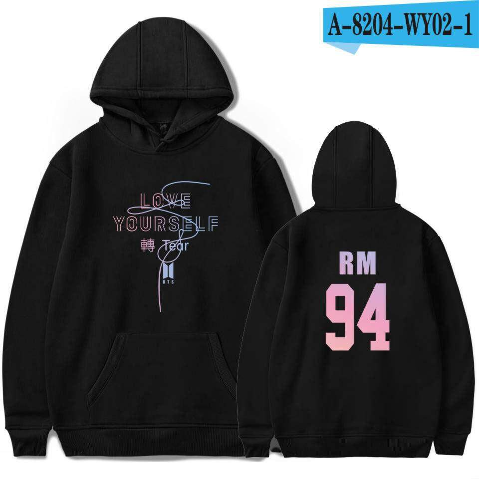 Korea BTS Balistik Youth League Sweater Pasangan-Intl