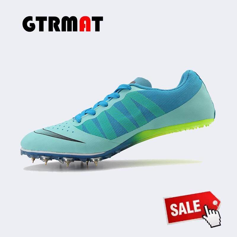 Gtrmat Mengikuti Olahraga Lari Sepatu Paku Paku Atletik Sepatu Olahraga Sepatu Sepak Bola Kasut Kuku