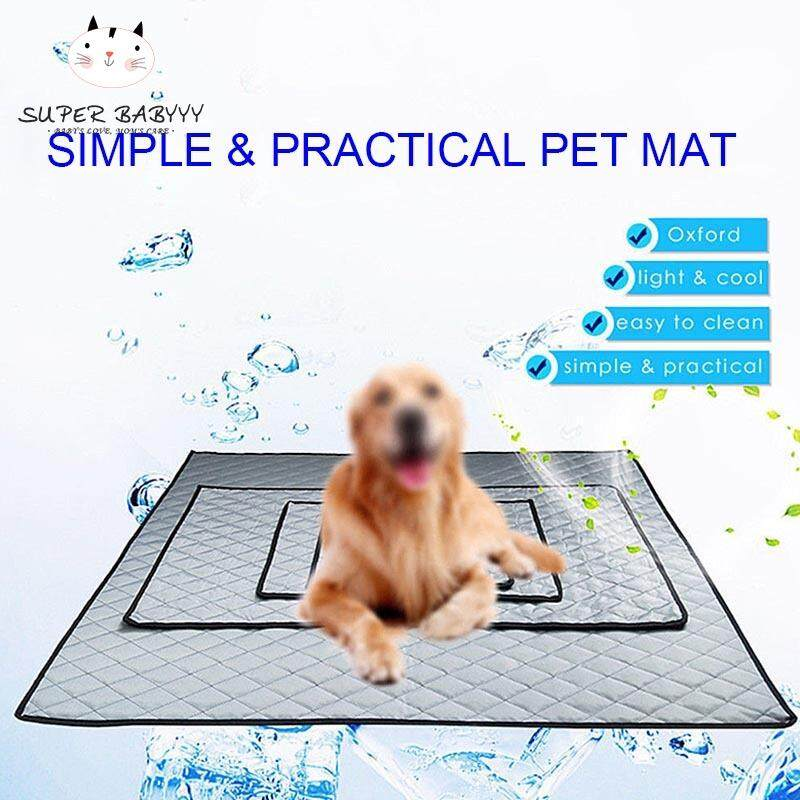 Sby Summer Dog Cooling Mat Non-Slip Pet Sleeping Pad For Home Car Travel Keeping Cool By Super Babyyy.
