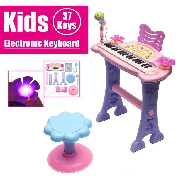 Bàn Phím Điện Tử Cho Trẻ Em 37 Phím Đàn Piano Đàn Piano Đa Năng Có Micrô Âm Nhạc Thời Thơ Ấu Đến