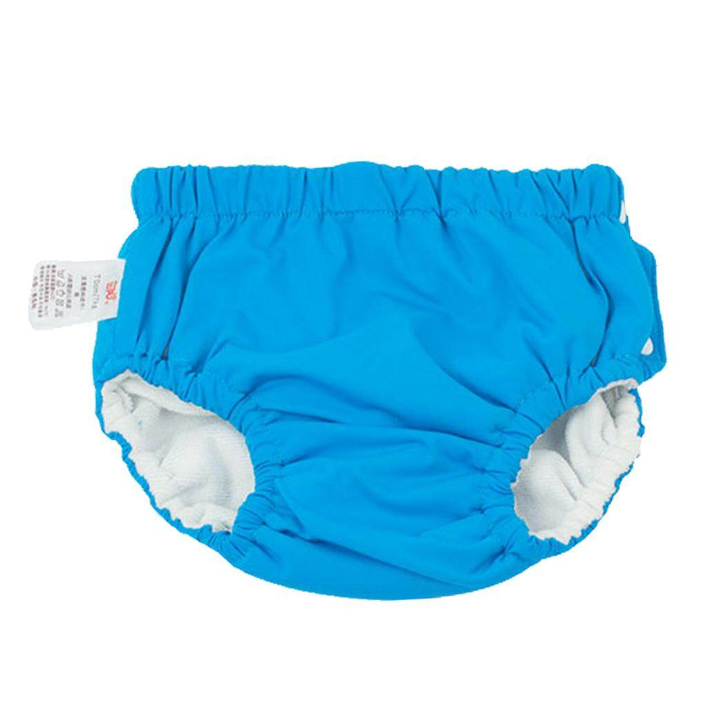 Magideal Baby Swim Diaper Reusable Absorbent Washable Nappies Blue (for6-12kg) By Magideal.