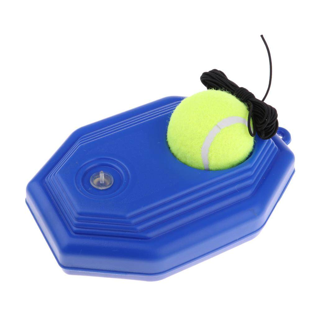 Miracle Shining Tennis Trainer Single Practice Tennis Training Aid Tool For Beginner Blue By Miracle Shining.
