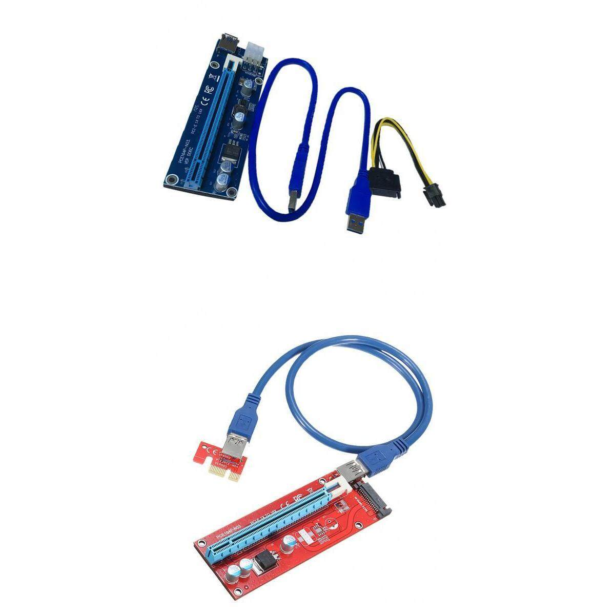 Magideal Pci-Express Card 1x To 16x 3.0extension Cable 4pin 15pin Bitcoin Mining By Magideal.
