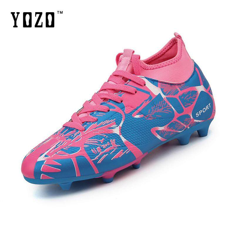 YOZO Youth Football Shoes Men S Professional Training Shoes High Top Soccer  Shoes Sneakers Football Boots Sports 9d00c9b0e6