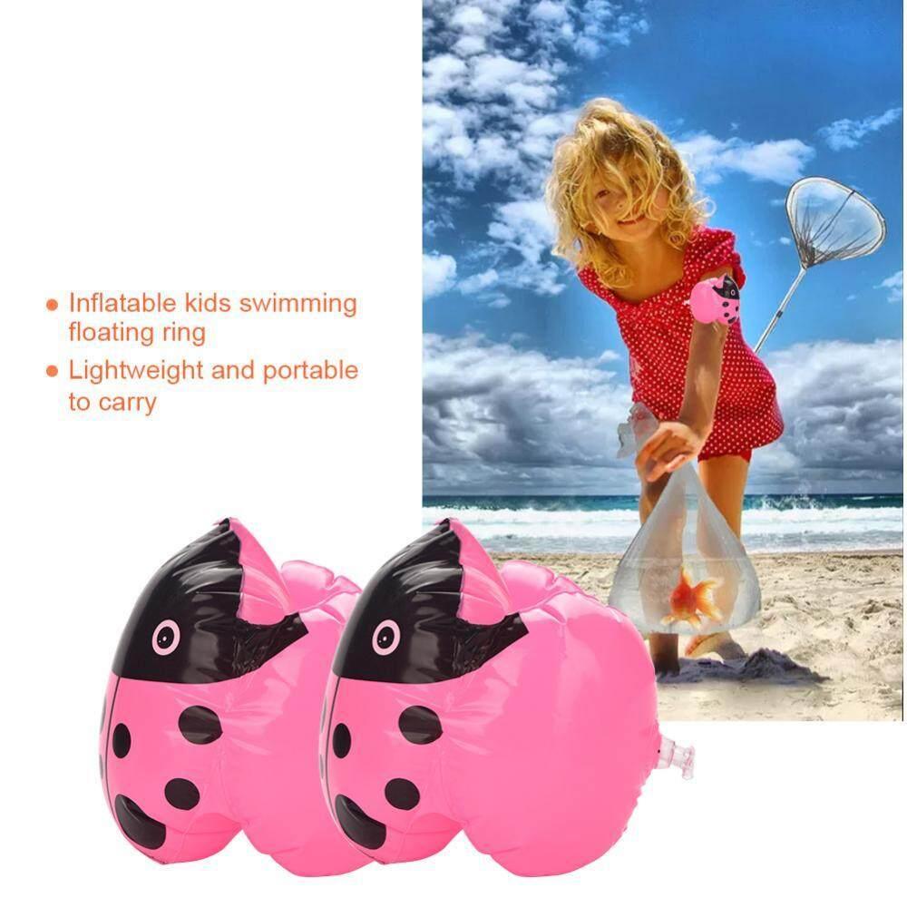 Hình ảnh 1 Pair of Swim Arm Ring Kids Inflatable Interesting Cartoon Swimming Learning Tool - intl