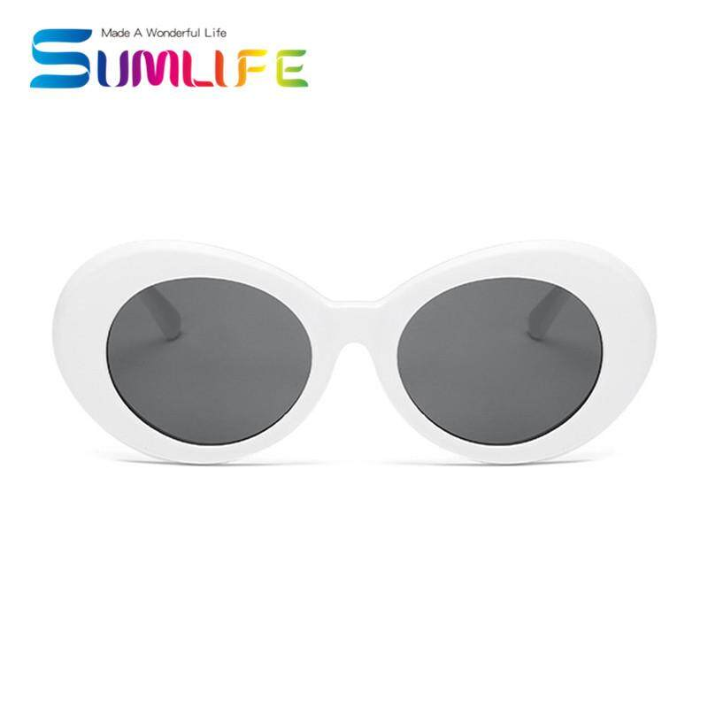 New Retro Small Box Sunglasses Men and Women Trend Sunglasses -White Box Black Gray