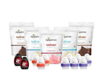 Isagenix (100% Natural) Wellness Pak , Weight Loss Meal Replacement (*Free Shaker)