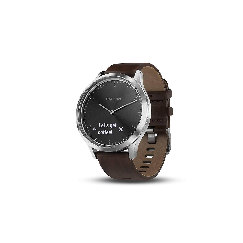 การใช้งาน  พะเยา Garmin Vívomove HR Premium Hybrid Smartwatch Black/Silver