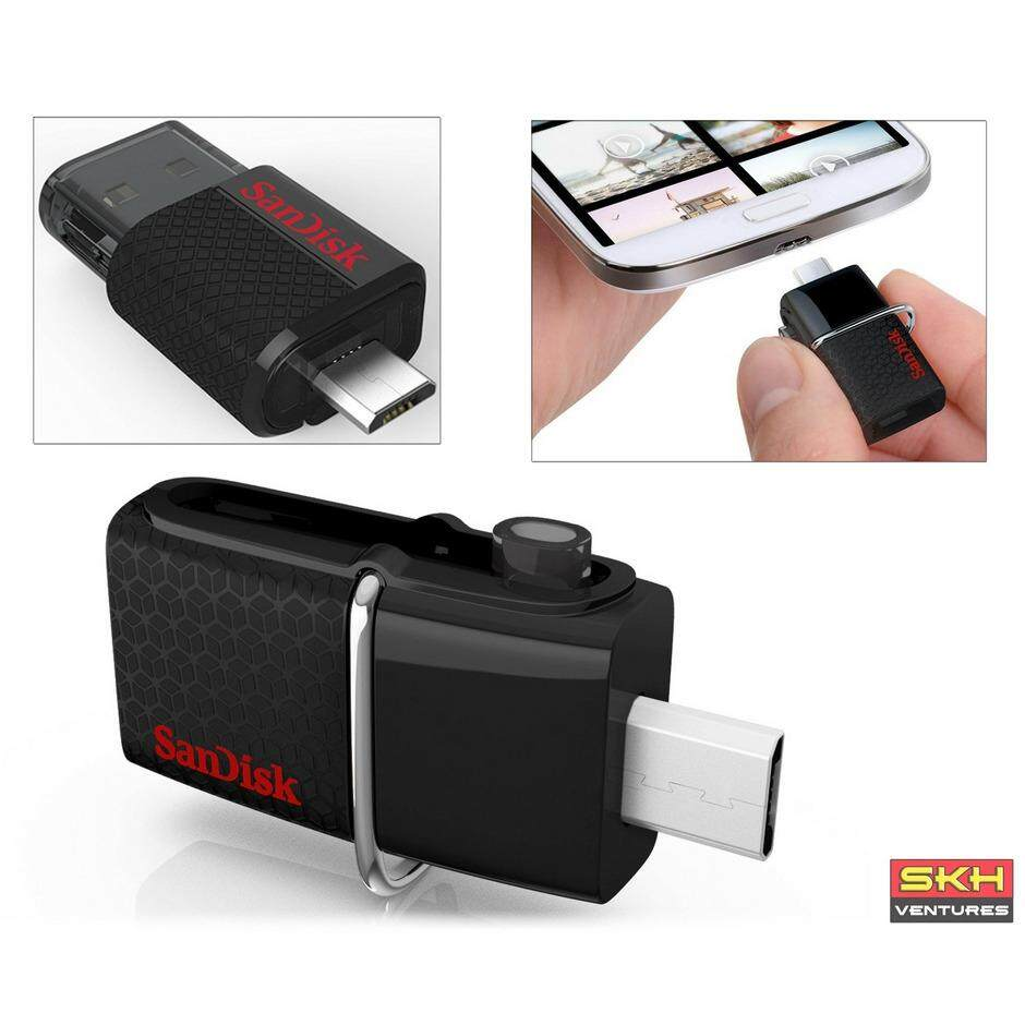 Features Sandisk Ultra Dual Drive Usb 3 1 Type C Otg Flash 32gb M30 30 Micro 16gb
