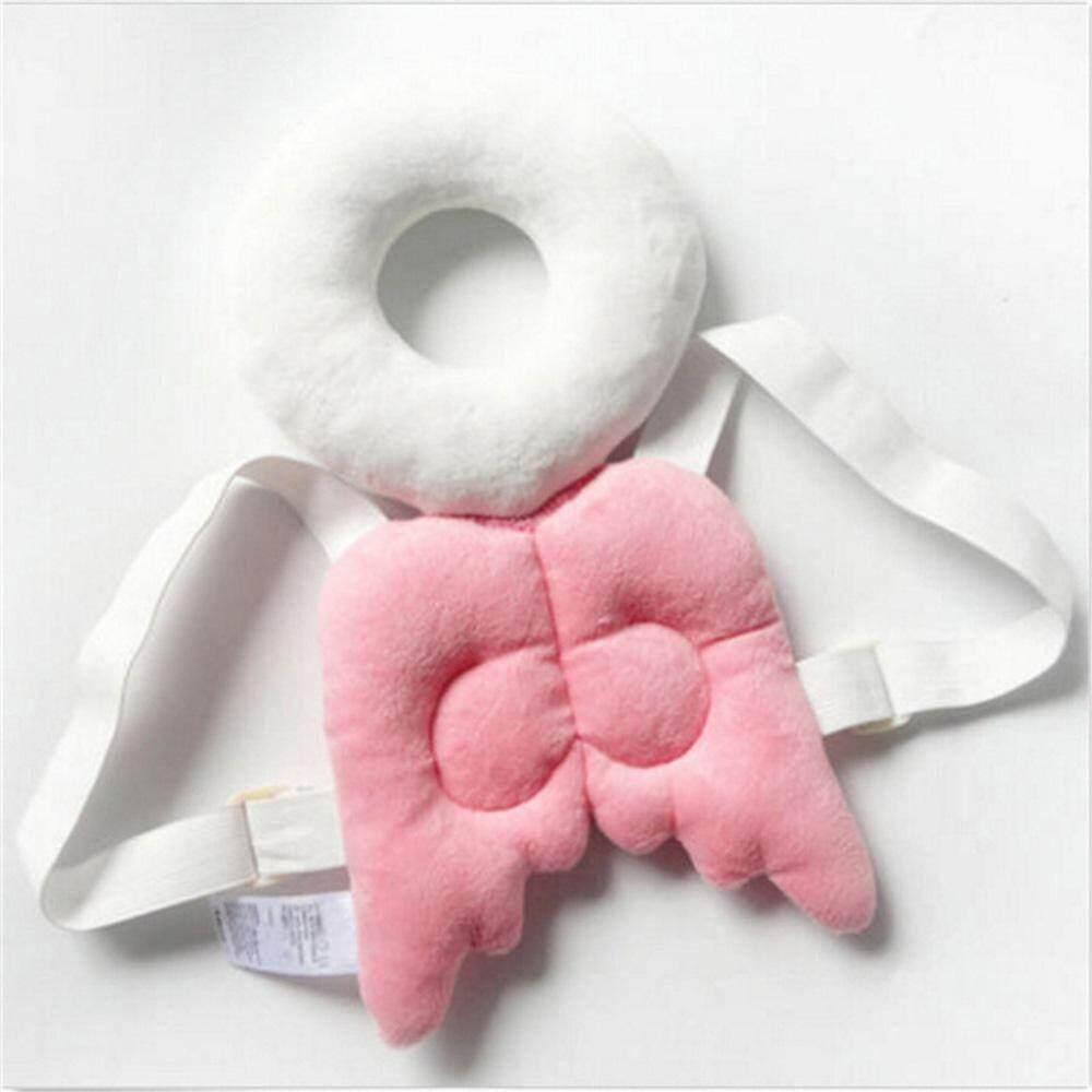 Kepala Perlindungan Pad Sandaran Kepala Anak Kecil Bantal Leher Bayi Lucu Sayap Perawatan Drop Resistance Bantal