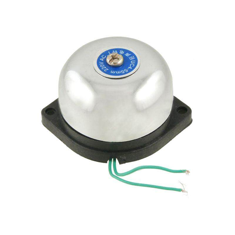 55mm Diameter Fire Alarm Electric Gong Bell AC 220V - intl