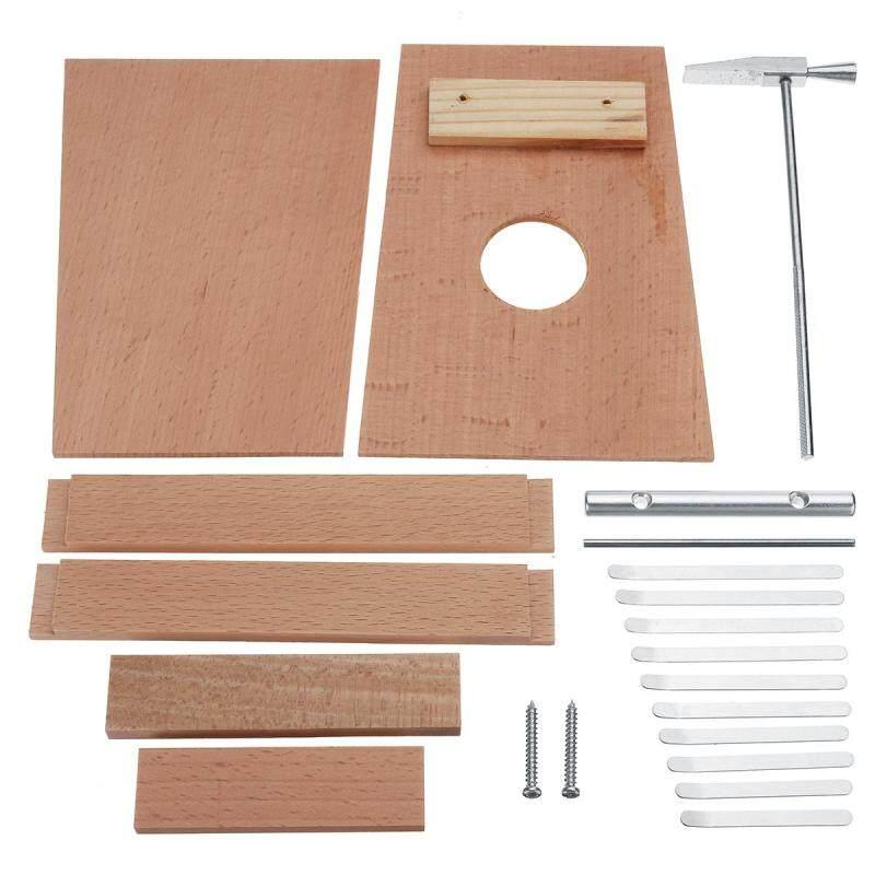10 Key Finger Mbira Kalimba Thumb Piano Mini Wood Percussion Instrument
