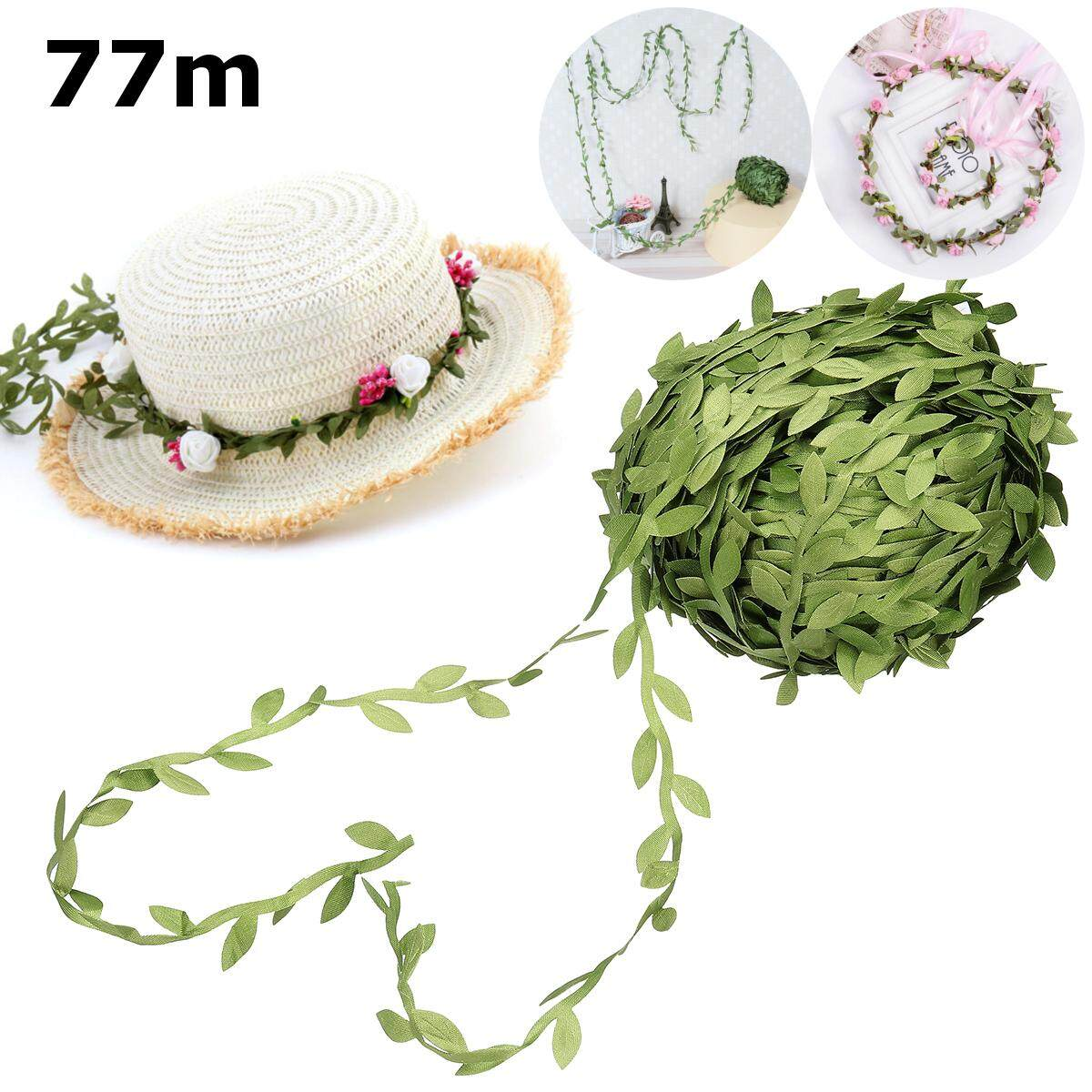 77M Artificial Ivy Leaf Garland Plants Vine Fake Green Leaves Party Home Decor