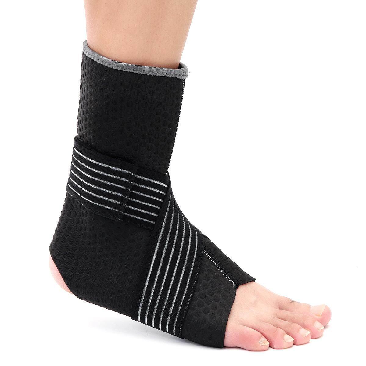 Detail Gambar Neoprene Ankle Support Compression Strap Achilles Tendon Brace Sprain PT[L] - intl Terbaru