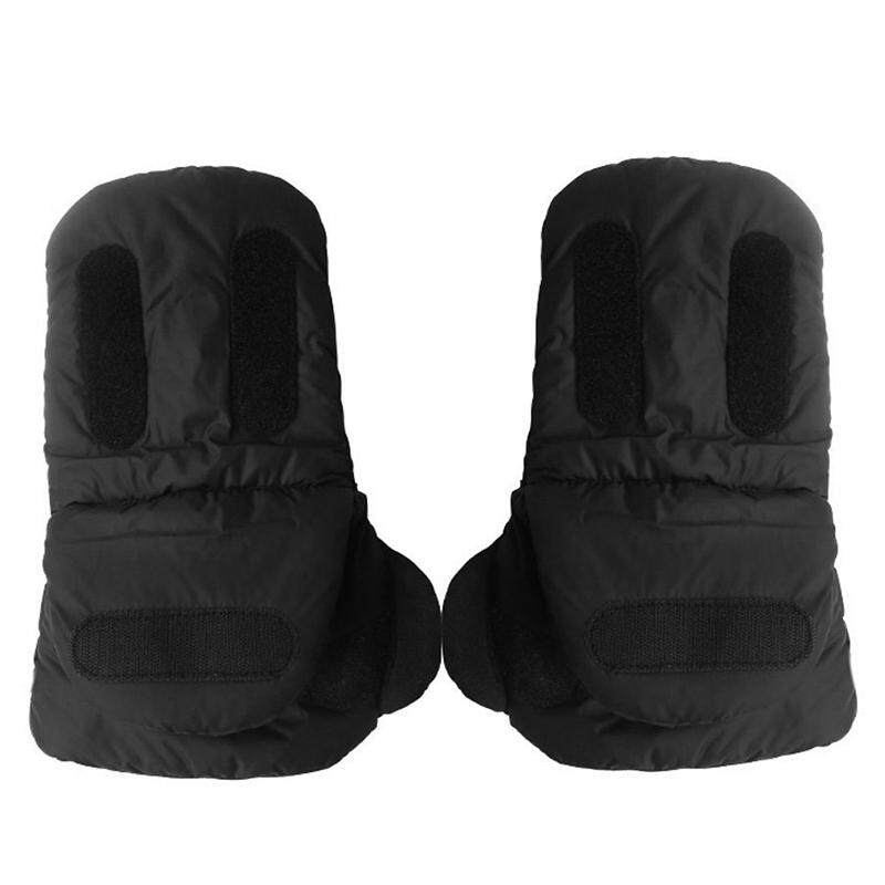 Lissng Anti - Freeze Plush หนาถุงมือกลางแจ้งฤดูหนาวรถเข็นเด็กทารกถุงมืออุ่น Windproof Plush รถเข็นเด็กทารก By Lissng.
