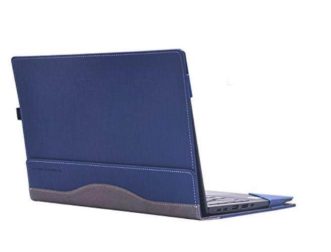 Laptop Case For Lenovo ThinkPad X1 Carbon 14 Inch 2017, Detachable Cover Notebook Computer Sleeve Bag Tablet PU Leather Protective Skin (blue) - intl