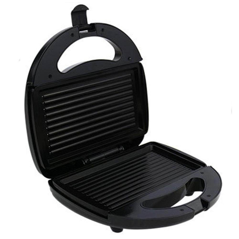 Multi-Function Non-Stick Electric Sandwich Makers Roast Meat Sausage Hamburger Steak Electric Oven Bbq Grilling Plate Waffle Toaster Breakfast Machine - Intl By Trustinyou.