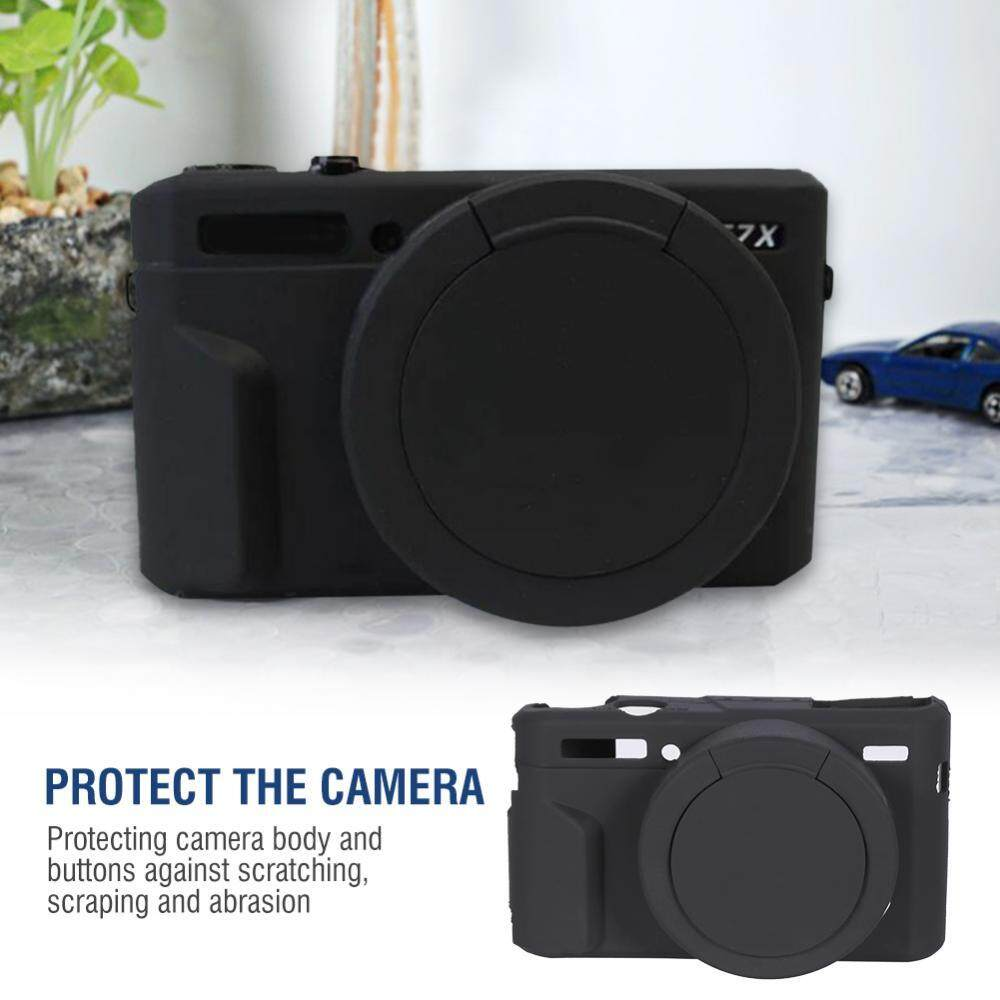 Lightweight Silicone Camera Case Cage Canon G7xii /g7x Mark Ii Protector Cover By Qianmei.