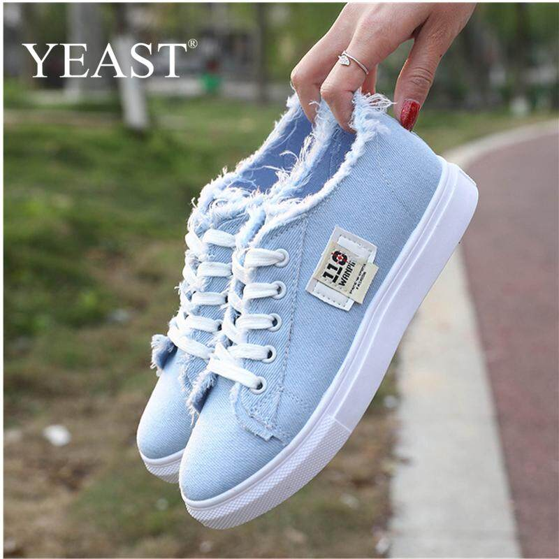 0f0810b28244 New Fashion Women Casual Canvas Shoes Korean Style Lace Up Students Sneakers  - intl