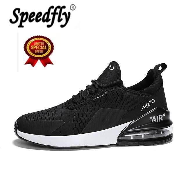 Speedfly Pria Sepatu Lari Untuk Wanita Bagus Zapatillas Pelatih Atletik Hitam Olahraga Bantal Udara Luar Ruangan