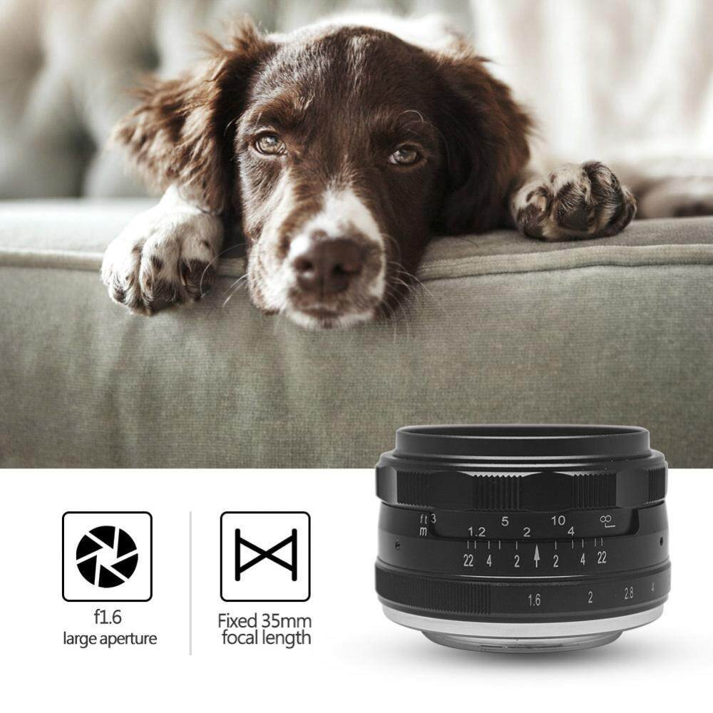 Mcoplus 35mm f/1.6 Fixed Manual Focus Multi-coated Lens for Mirrorless Cameras (for M4/3 mount) - intl
