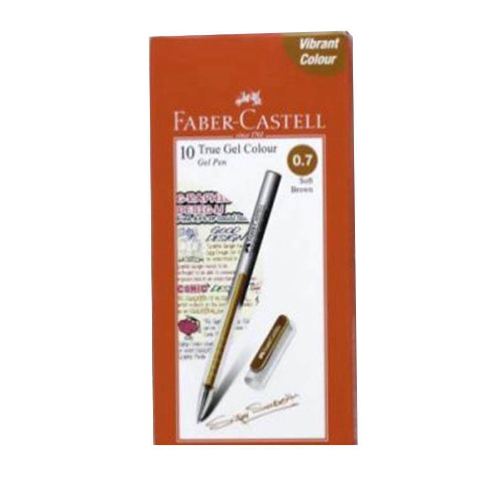 Faber-Castell True Gel Pen 0.7mm Soft Brown (242676)
