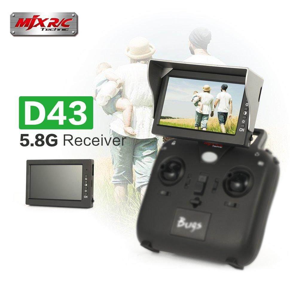 MJX D43 5,8G 4.3 Di 32CH FPV Monitor Penerima X220 QAV250 C5830 B6
