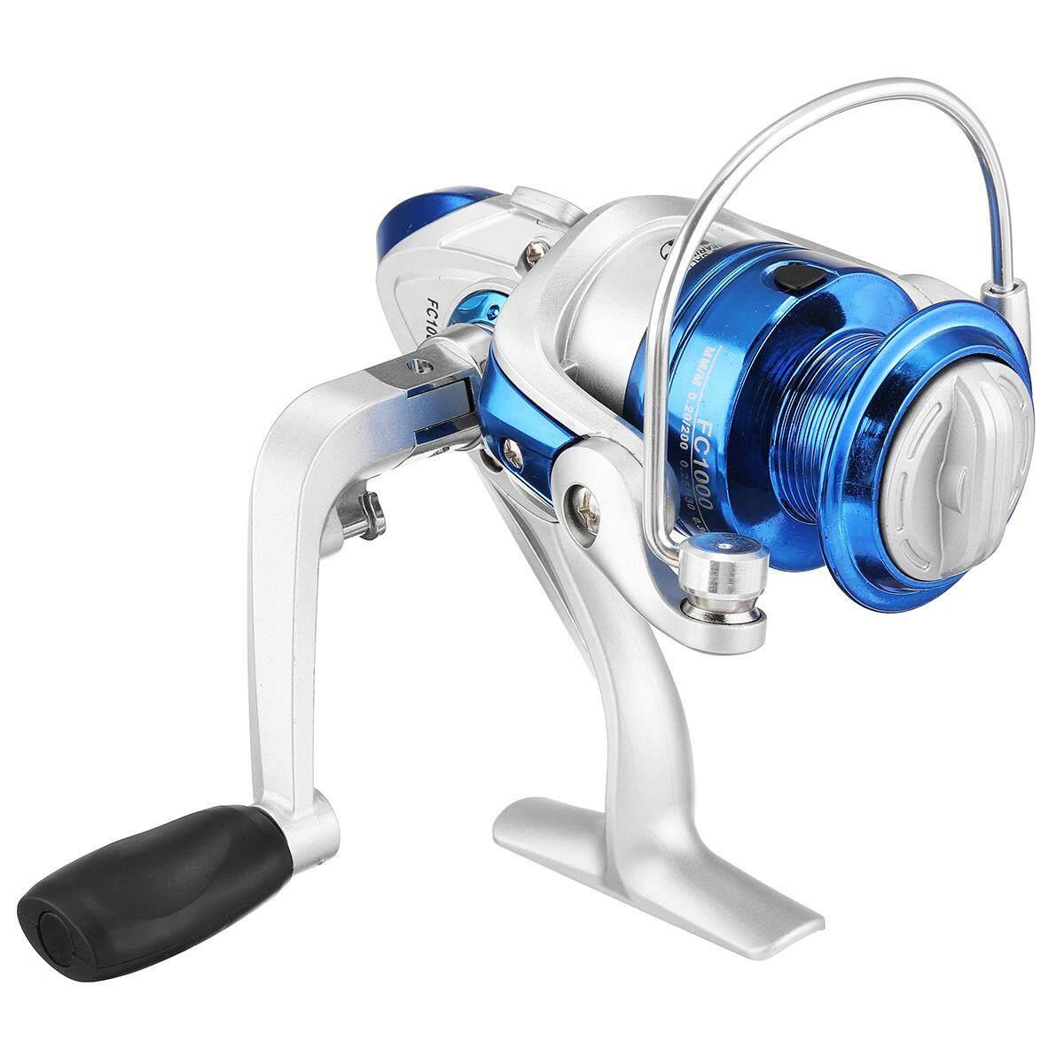 8 Bearings Spinning Reel 5.2:1 Fixed Pool Sea Fishing Tackle FC6000