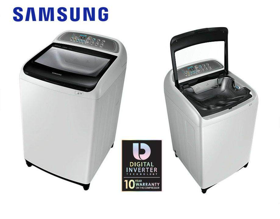 Samsung  9kg Active-Dual Washer Fully Auto Washer WA90J5710SG