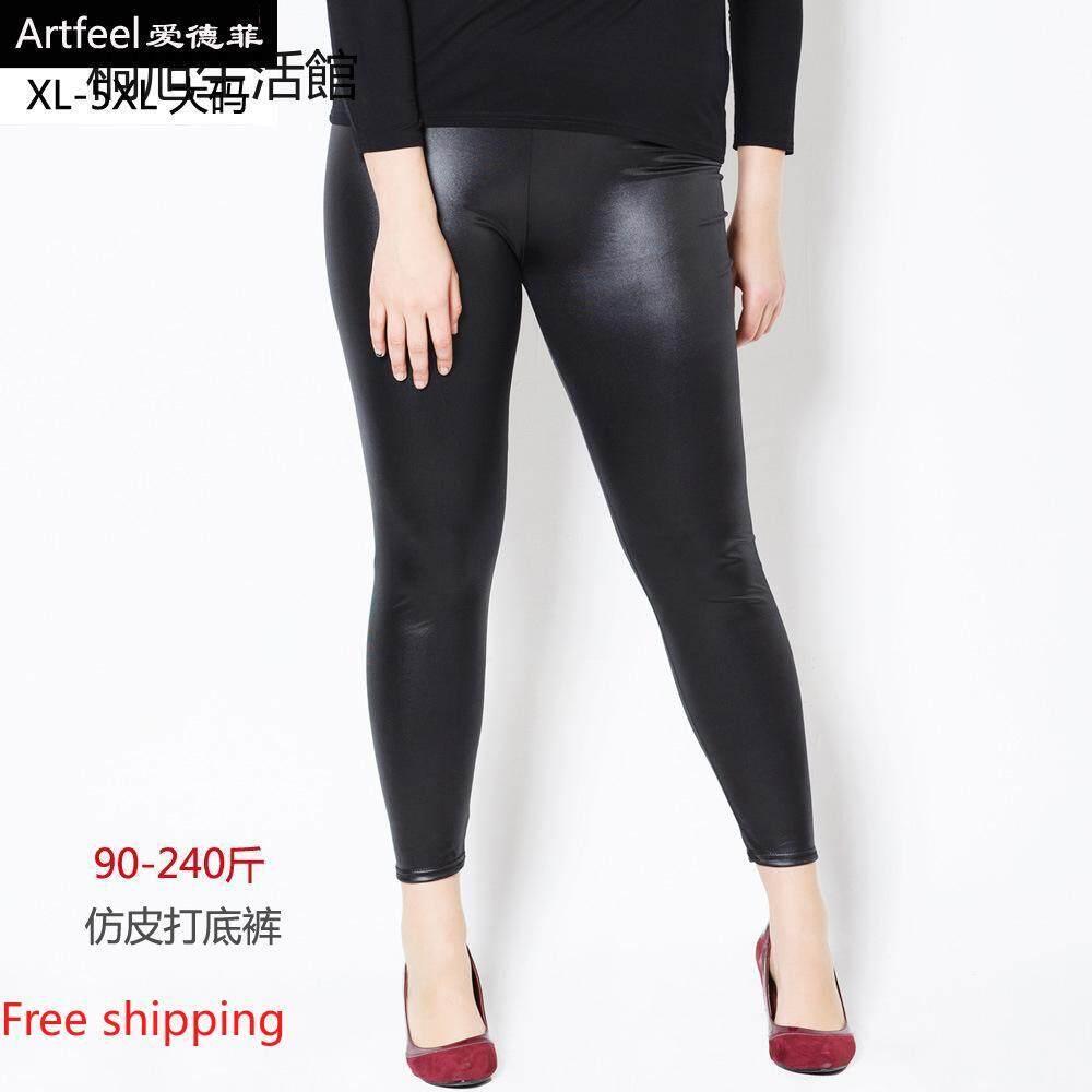 Tongxulife Wanita Thermal Bulu Hangat Yang Tebal Berjajar Bulu Musim Dingin Ketat Celana Legging Pensil Ukuran
