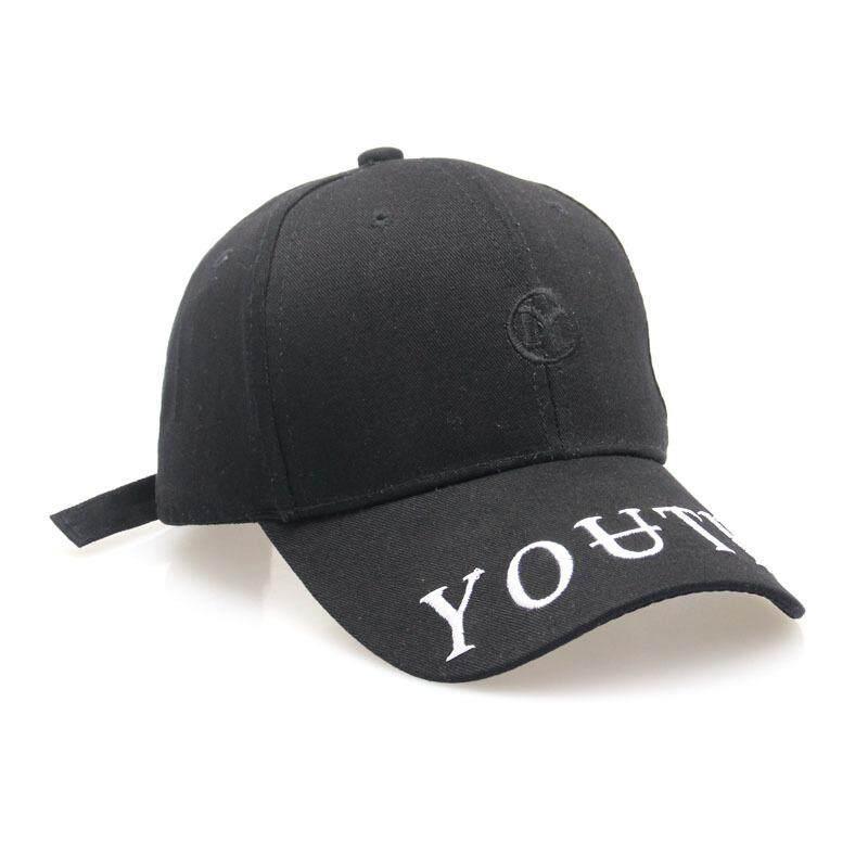 ... BTS Bangtan Boys Embroidery Letters Couple Baseball Caps intl