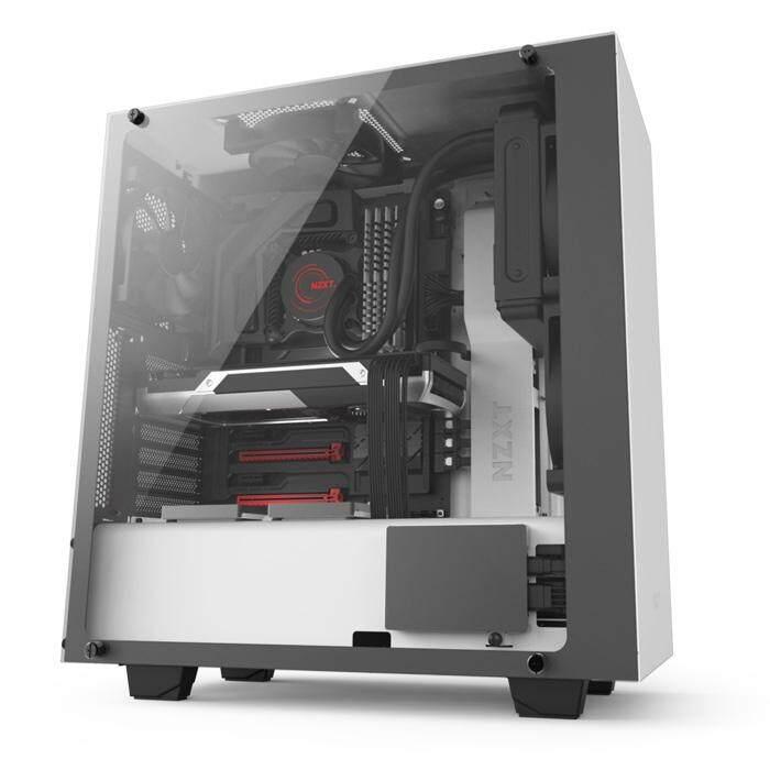 NZXT S340 Elite Mid Tower ATX Case - White Malaysia