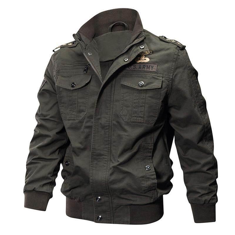 4a6839853be5 NNMB 2018 Jacket Men Military Army Pilot Bomber Jacket Tactical Mens Jacket  And Coat Windbreaker Streetwear