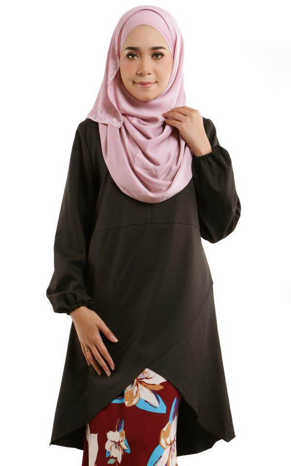 JF Fashion Alyssa Overlap Blouse M398