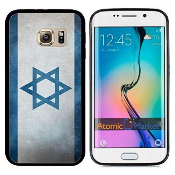 Smartphone Case S Israel Bendera Israel Grunge untuk Samsung Galaxy S6 I9700 Case Cover-Intl
