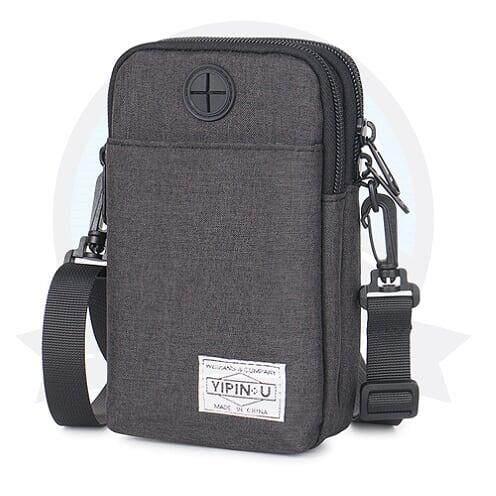 [ BEST SELLER] YIPINU Anti-Theft Multi-purpose Pouch-Black