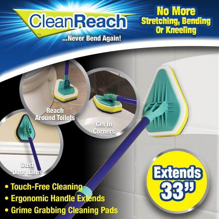 CLEAN REACH - No more bending or kneeling!
