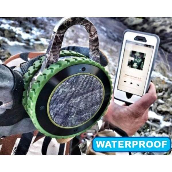 Portable Speaker Segala Medan Suara Speaker Bluetooth Portabel Kasar Outdoor Nirkabel Tahan Air Bluetooth Speaker-CAMO-Intl