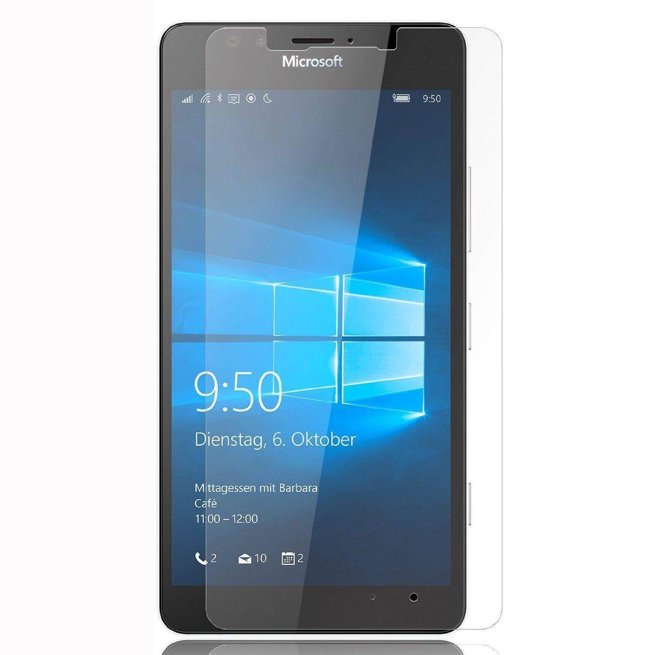 Tempered Glass Screen Protector 2.5 9H Protective Film for Microsoft Lumia 650