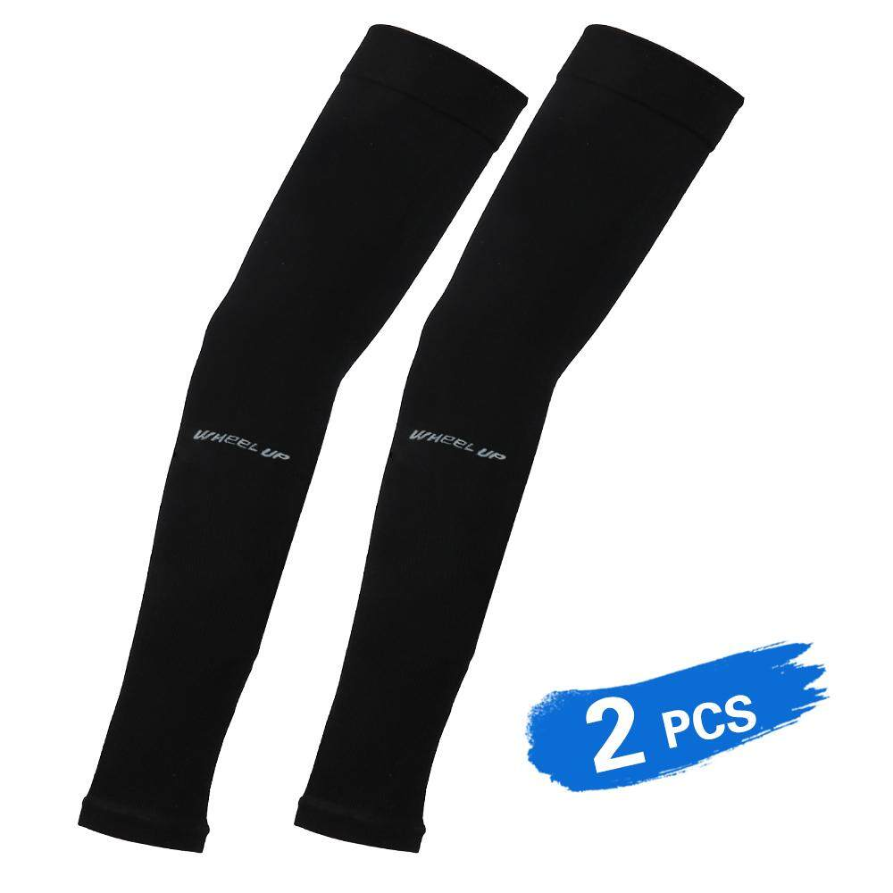 2 PCS Cooling Arm Sleeves Stretchy Long Protective Sun-resistant Sleeves for Cycling Driving Running Basketball Football Outdoor Activity - intl
