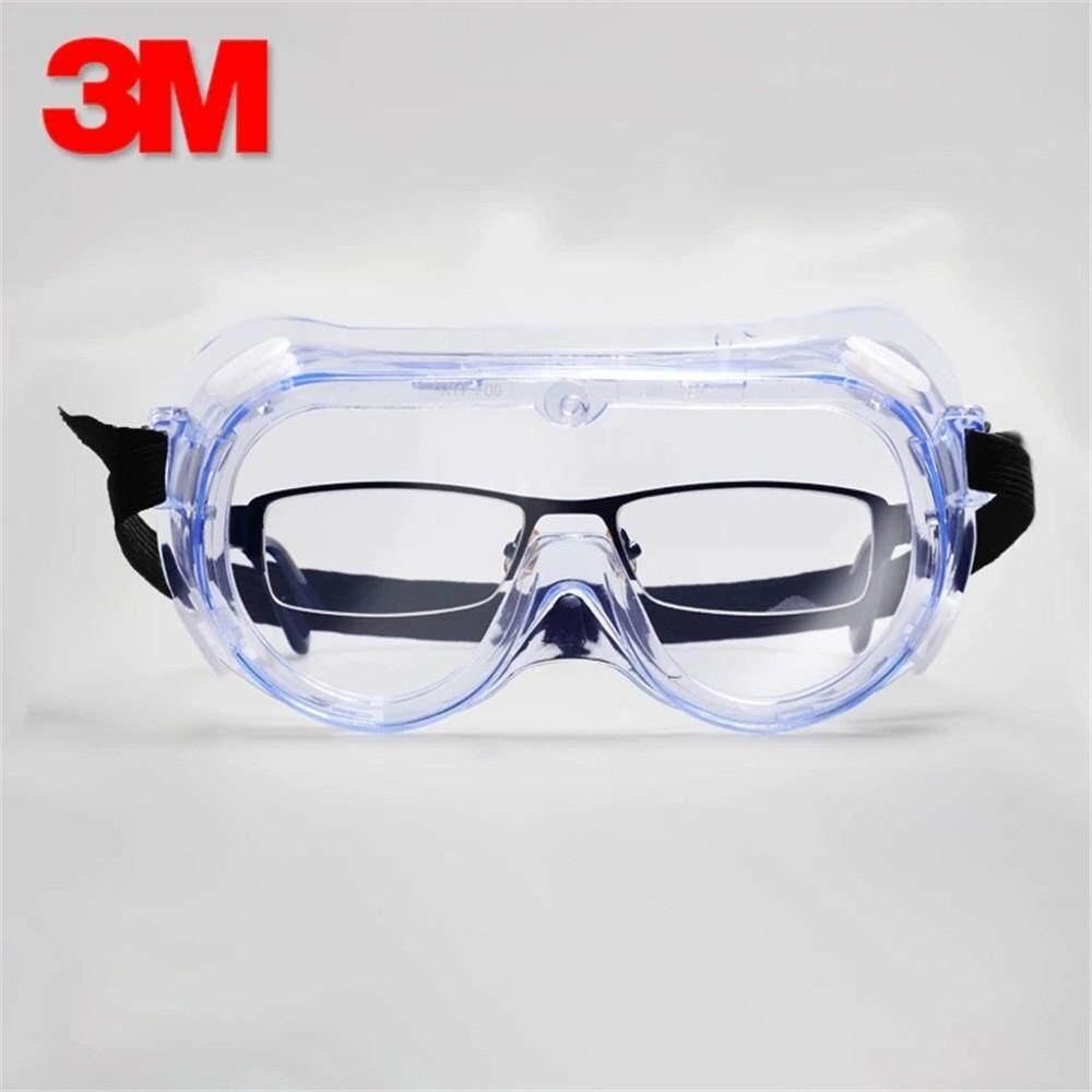 3M 1621 Anti-Impact Anti Chemical Splash Safety Goggles, Economy Clear Lens Eye Protection