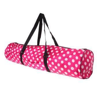 ราคาถูกที่สุด Miracle Shining Waterproof Yoga Mat Carrier Bags Adjustable Strap Yoga Sports Shoulder Pouch shock sale - มีเพียง ฿162.35