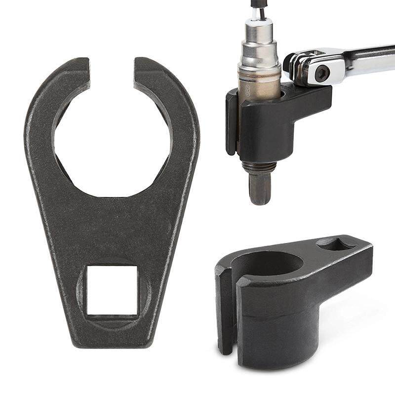 Dueplay Car Auto Universal Professional Remover Hand Tool Black 22mm 7/8''  Oxygen Sensor Socket 9 7mm Slot 3/8 - intl