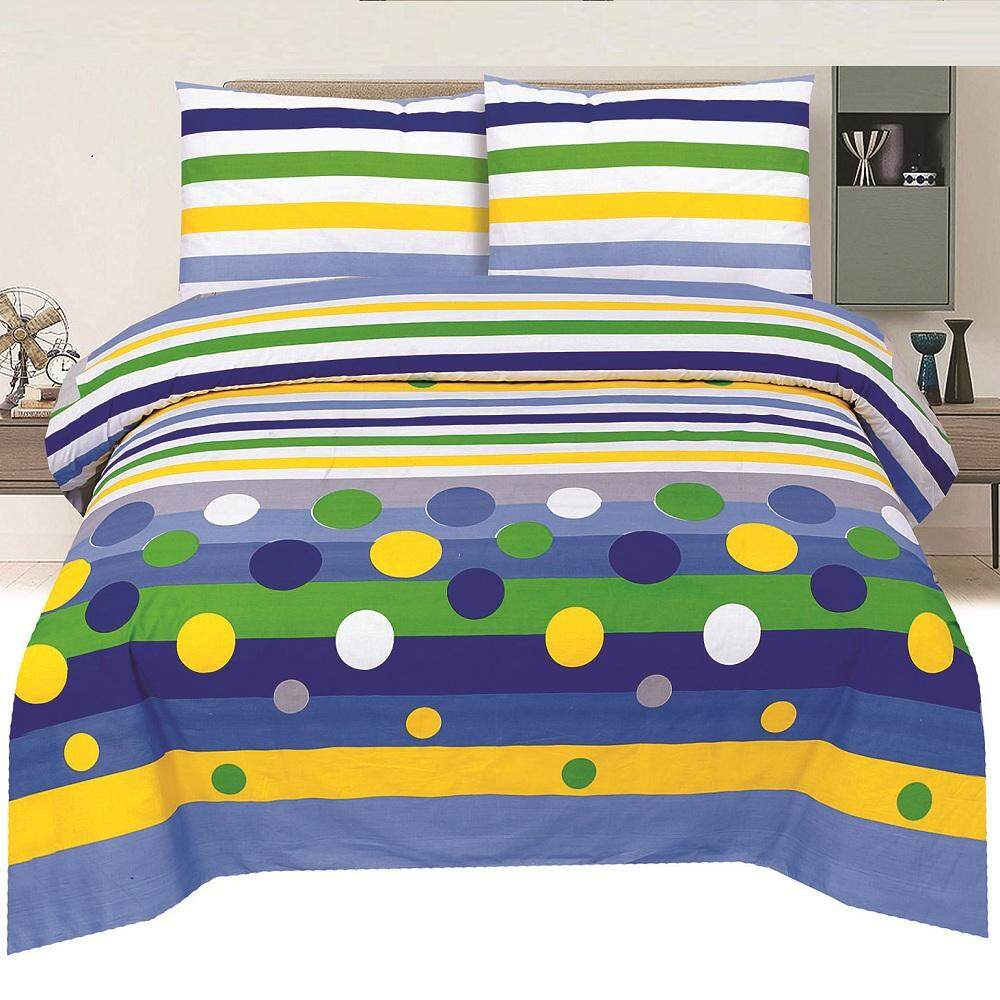 Bed Club: KING Cotton Fitted Sheet Set  (Basic 1831)